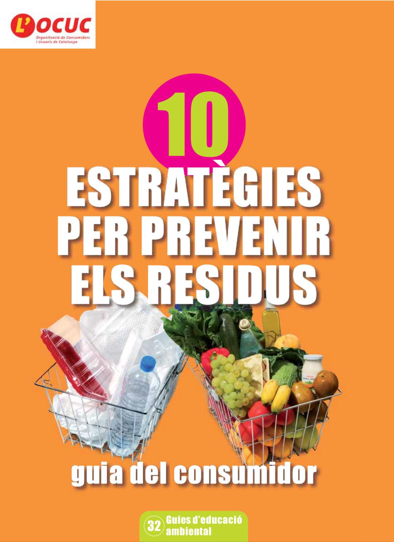 10 estrategias para prevenir los residuos