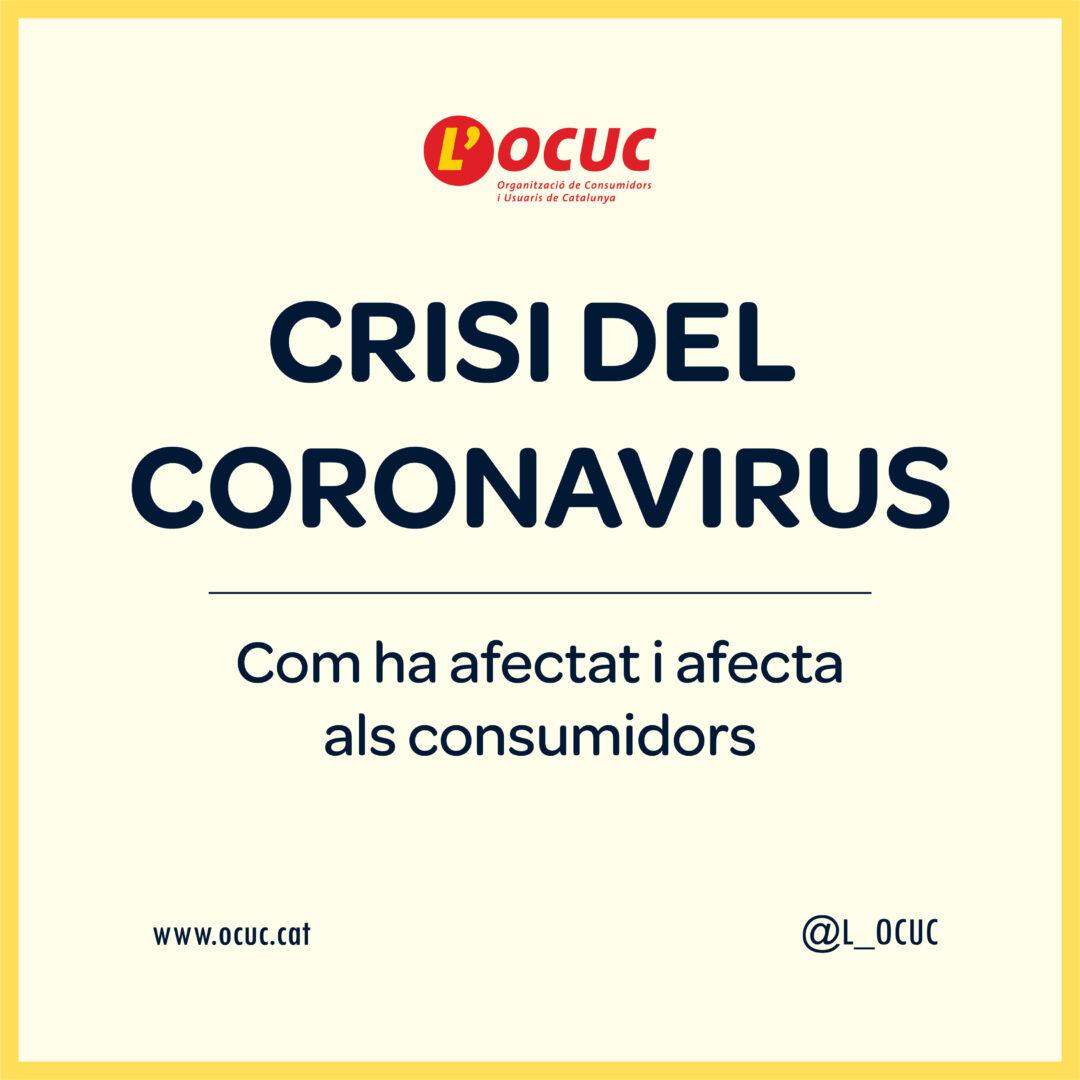Crisis del coronavirus: Cómo ha afectado y afecta a los consumidores