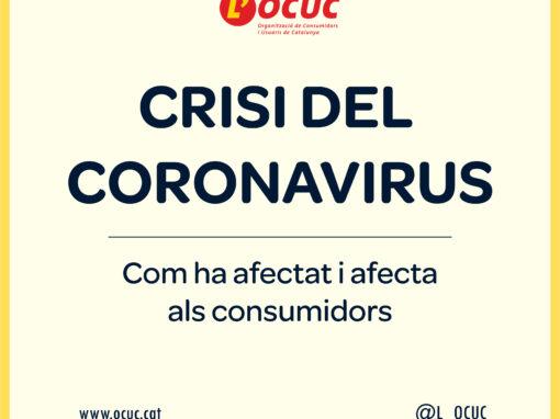 Crisi del coronavirus: Com ha afectat i afecta als consumidors